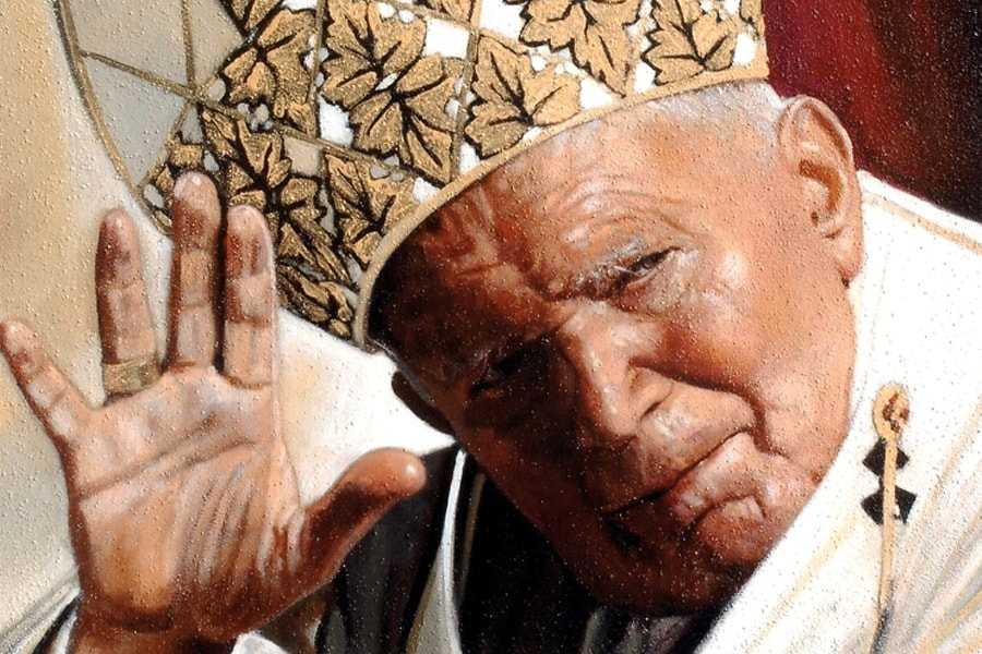 Giuseppe Afrune: Giovanni Paolo II